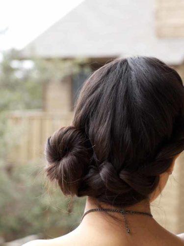 Peinado para fiestas y eventos / Twist bun