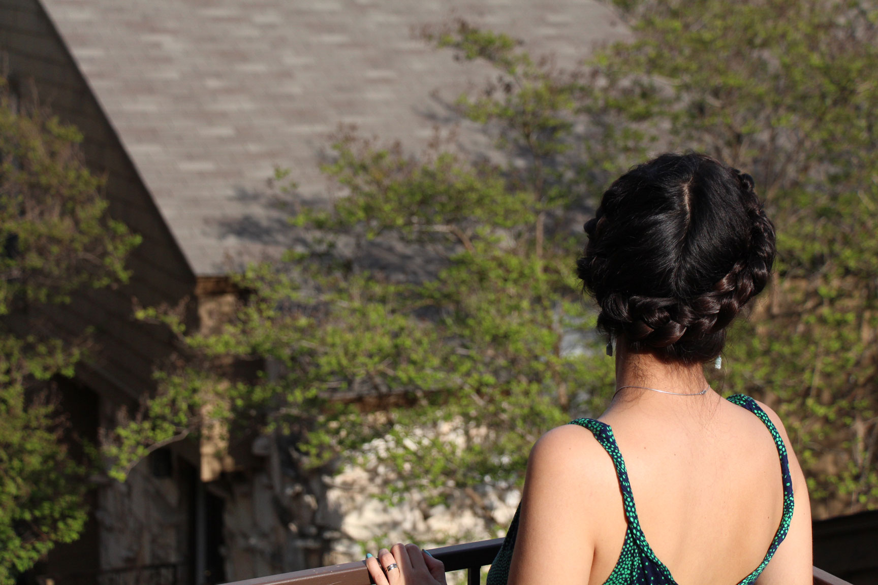 Aureolas Gigantes halo braid - trenza aureola - avanti morocha