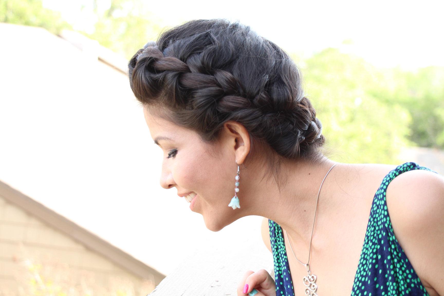 Hairstyles Halo Braid : cabello hair hairstyle halo braid peinados / hairstyles