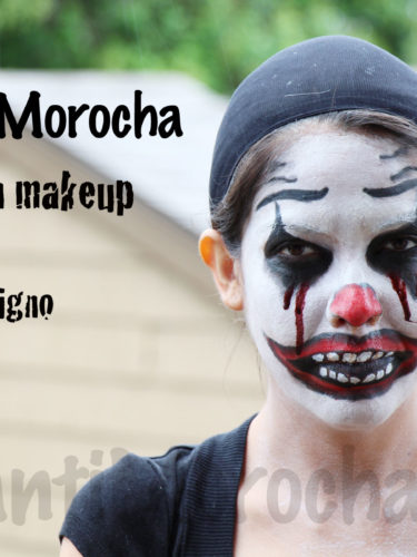 Halloween Makeup Evil Clown / Payaso Maligno