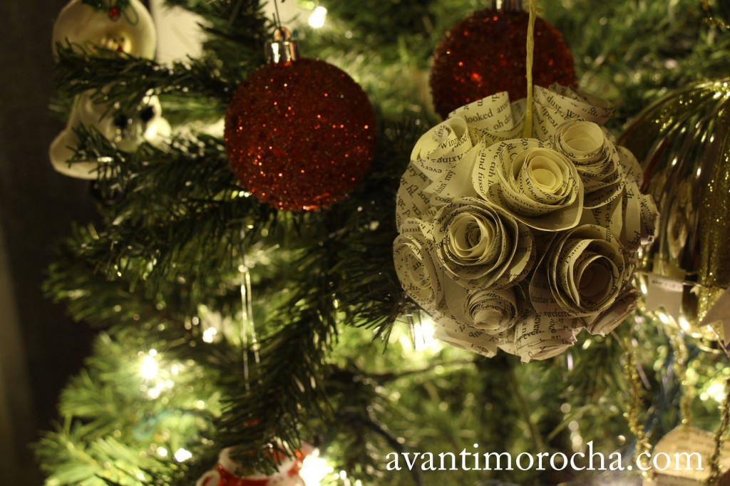 Paper Roses Ornament