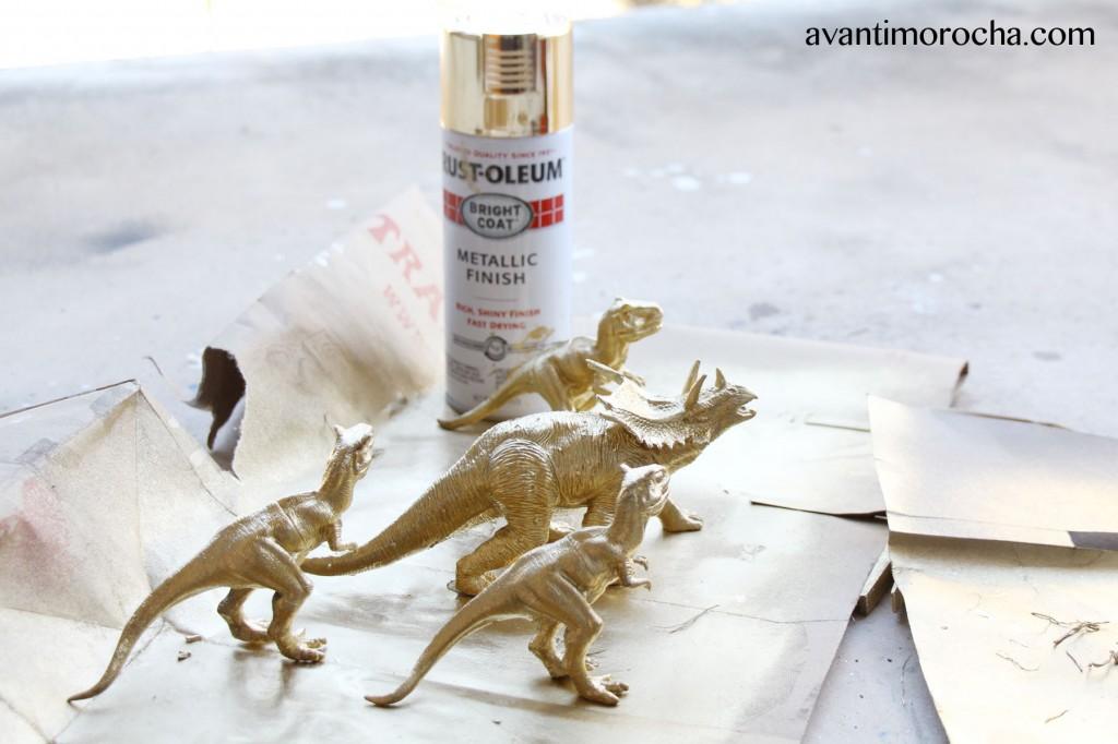 golden dinosaurs