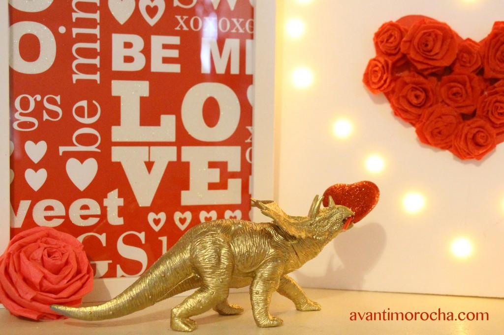 valentine dinosaur