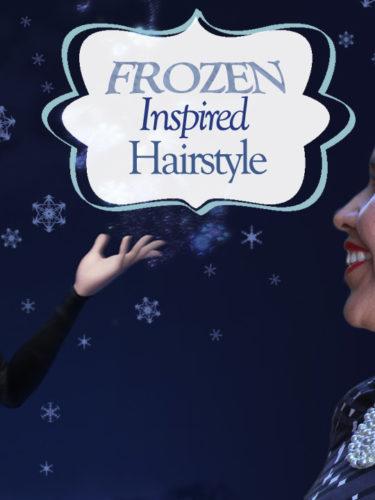 Frozen inspired Hairstyle – Peinado inspirado en Frozen