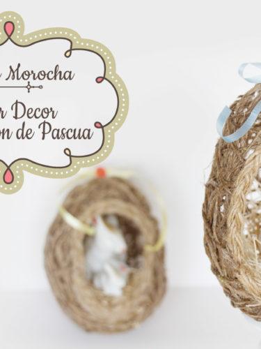 DIY Jute Easter Eggs