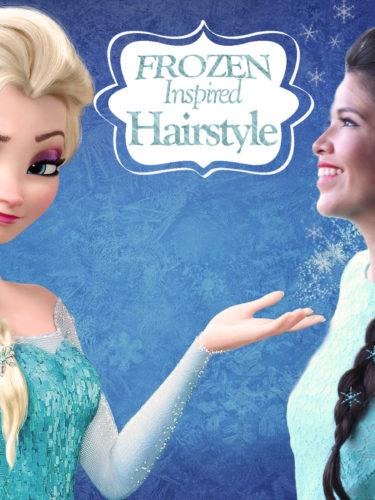 Frozen inspired hairstyle2 Elsa – Snow Queen