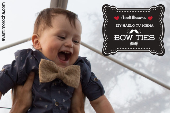 DIY Bow ties ( NO -Sew)