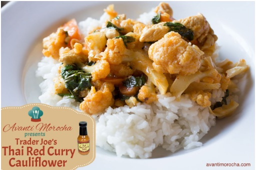 Thai Red Curry Cauliflower
