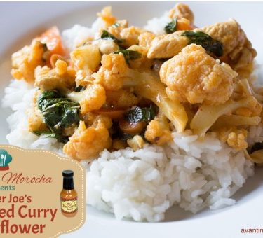 Trader Joe's Thai Red Curry Cauliflower