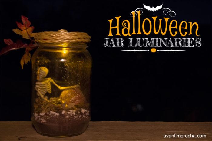 Halloween Jar Luminaries