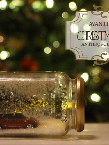 Anthropologie Inspired Christmas Mason jars – Snow Globes / Frascos Navideños