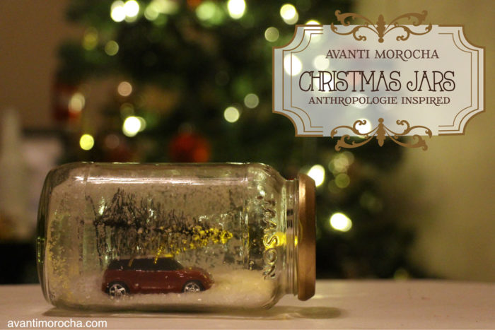 DIY Christmas Jars