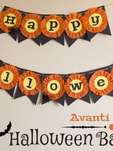 DIY Halloween Banners