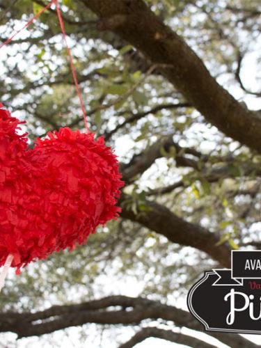 DIY Pull String Piñata – Valentine's Day