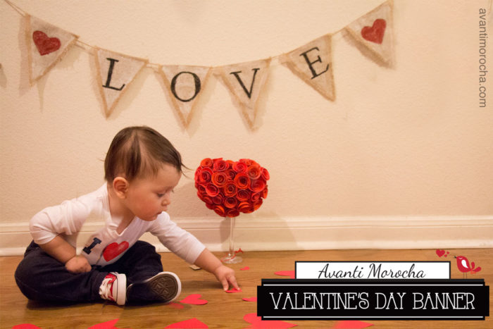 DIY Valentine's Day Banner