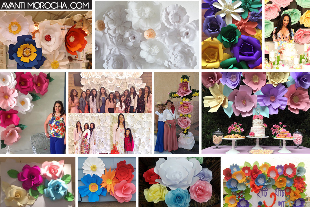 Avanti Morocha DIY Giant Paper Flower Backdrop