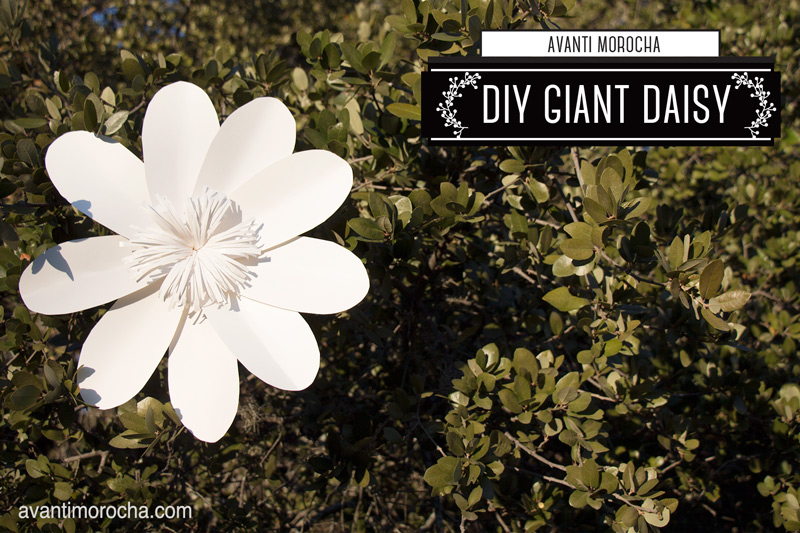 DIY Giant Daise