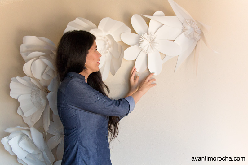 DIY GIant Flower Backdrop