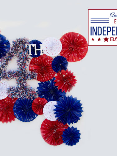 DIY Independence Day Backdrop 4th of July