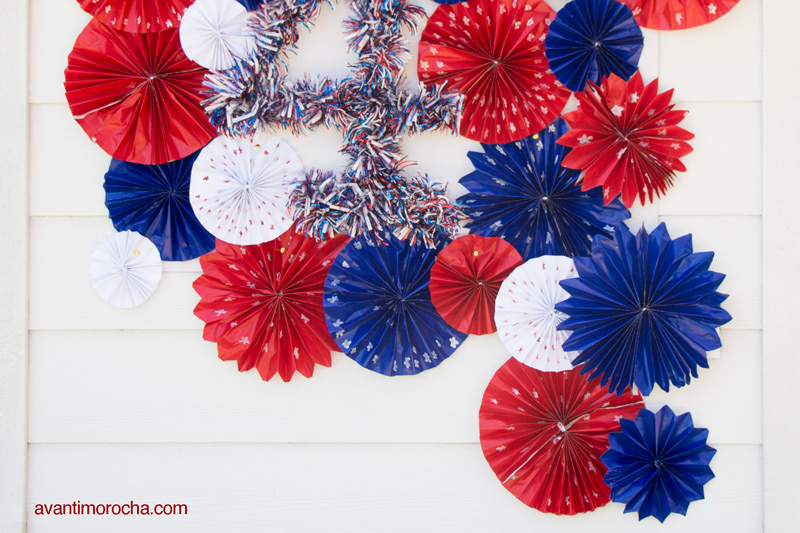 DIY Event decor - Paper Fans