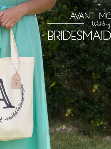 DIY Bridesmaid gift bag