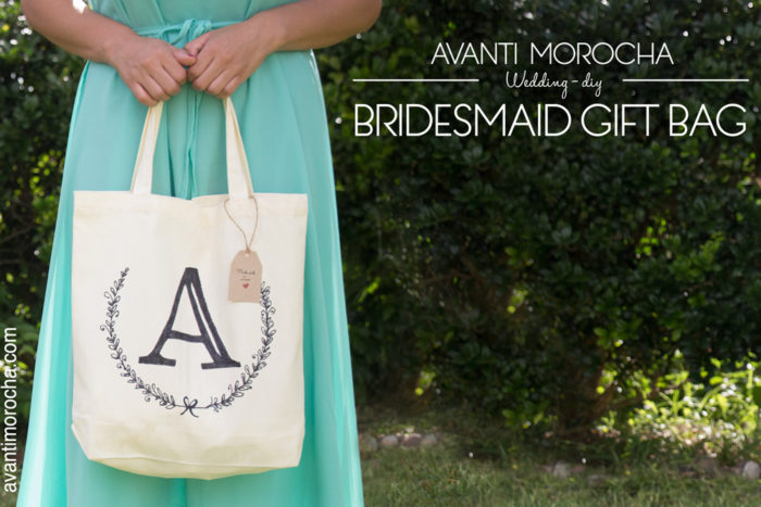 DIY Bridesmaid Gift Bag