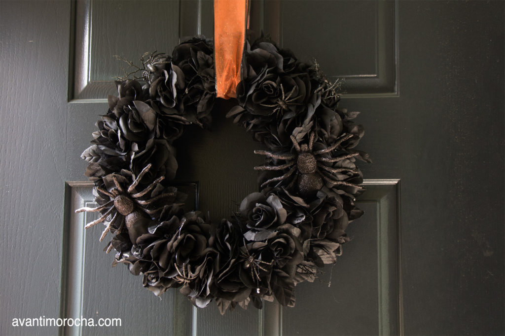 DIY Halloween Wreath