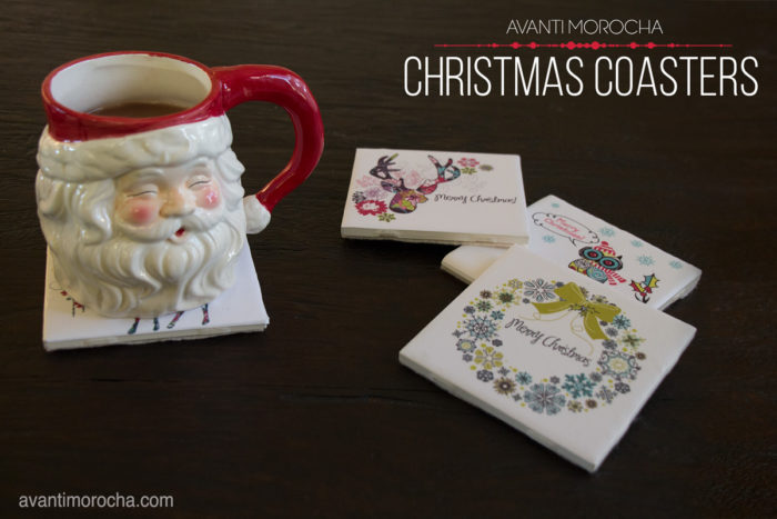 DIY Christmas Coaster