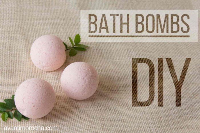DIY Bath Bombs / Bombas de Baño