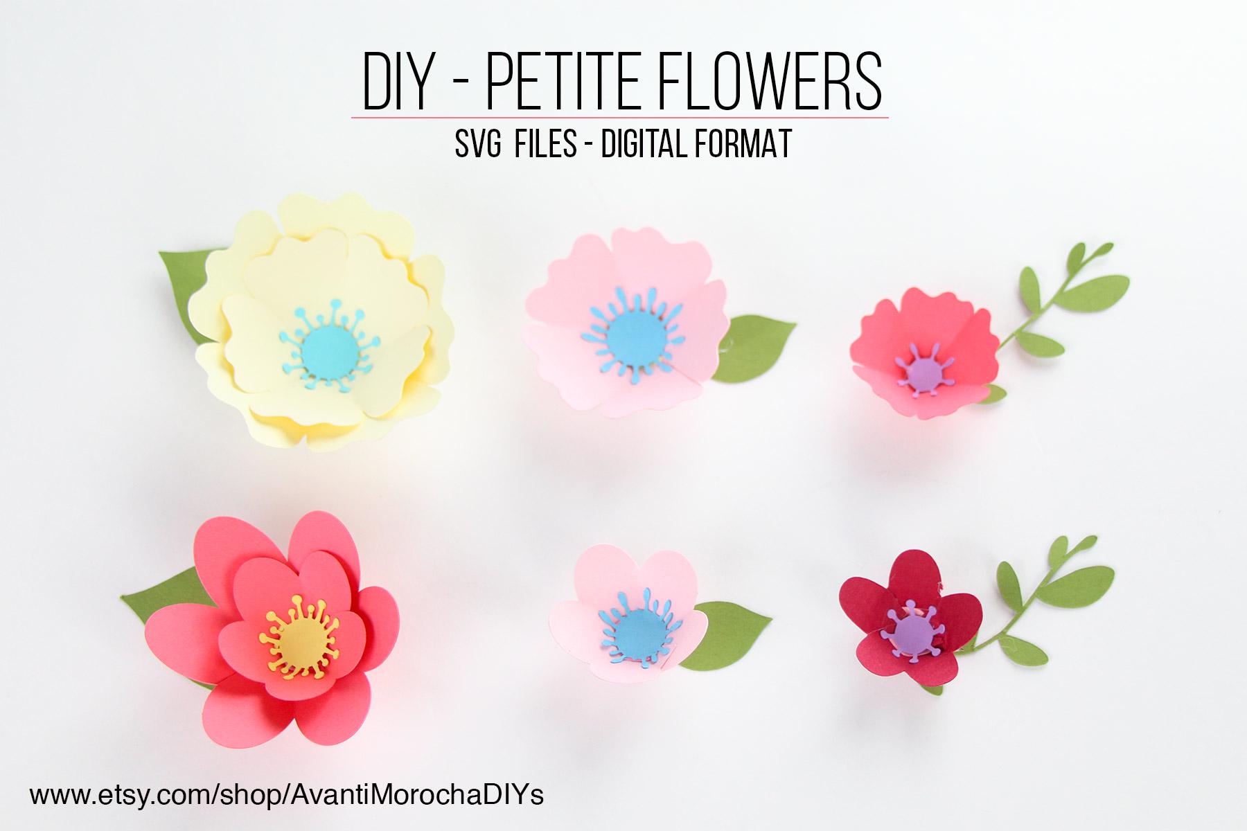 Petite Flowers - Etsy