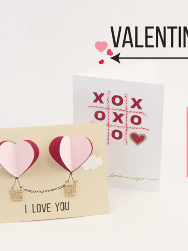 DIY Valentine Cards | Tarjetas de San Valentin