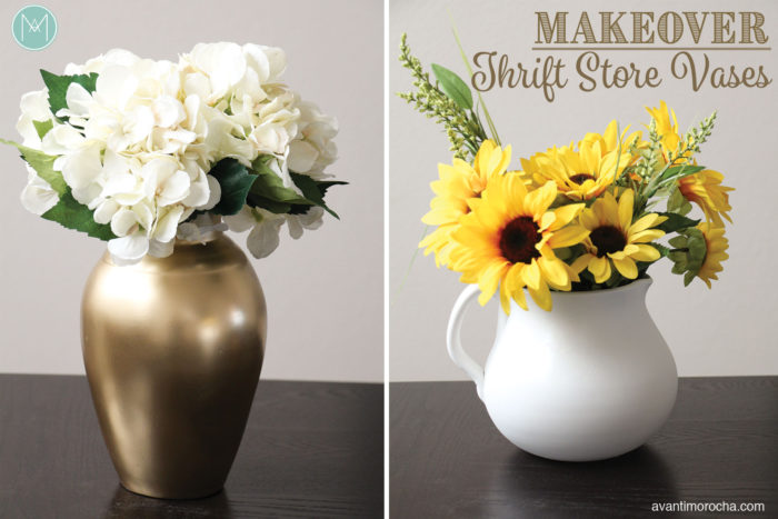 Makeover Thrift store vases