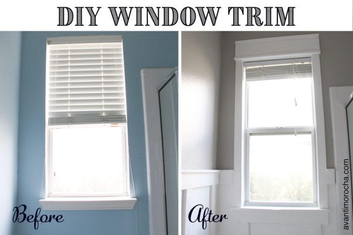 DIY Window-Trim