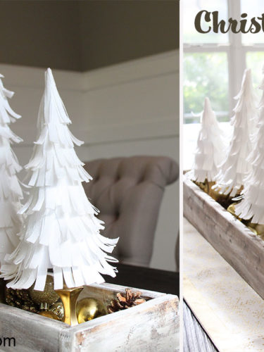 DIY Christmas Trees / Arboles Navideños