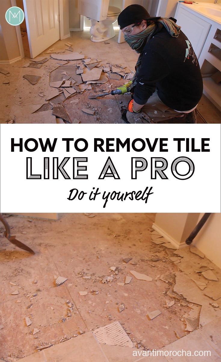 Remove tile like a pro