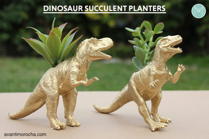 Dinosaur Succulent Planter