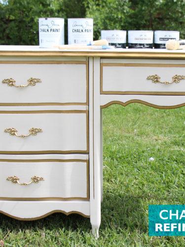 Chalk Paint® Refinished Desk
