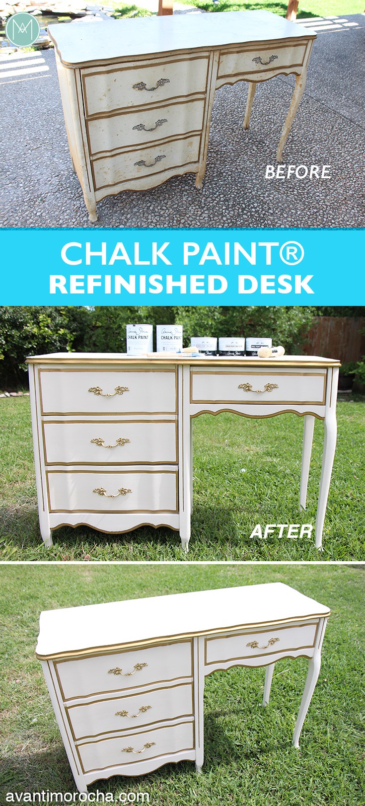 Chalk Paint® Refinished Desk