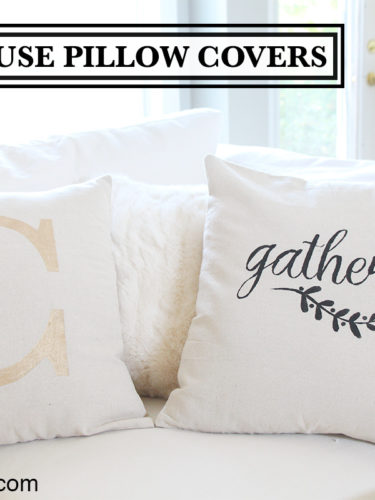 DIY Farmhouse Pillow Covers | Almohadas Decorativas