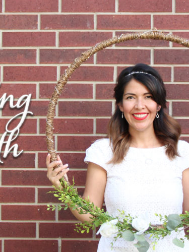 DIY Wedding Wreath | Corona de Bodas