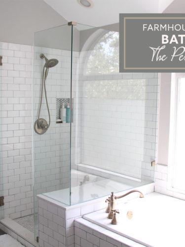 Industrial Farmhouse Bathroom – The Perfect Fixtures