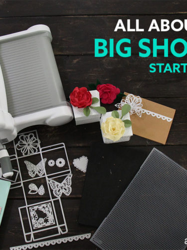 All About Sizzix Big Shot Plus Starter Kit – Todo sobre BSP