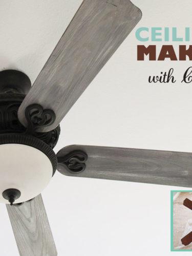 DIY Ceiling Fan Makeover | Actualizacion Ventilador