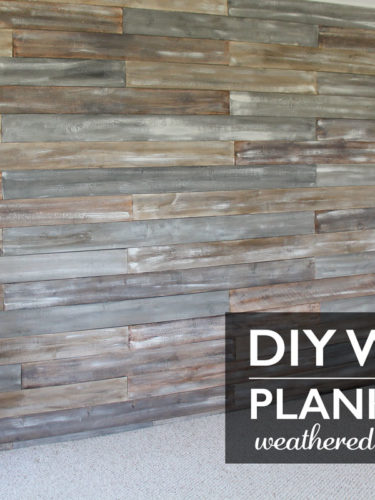 DIY Wood Plank Wall | Muro Decorativo  –  Chalk Paint®