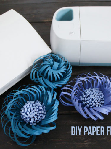 DIY Paper Flower Centers