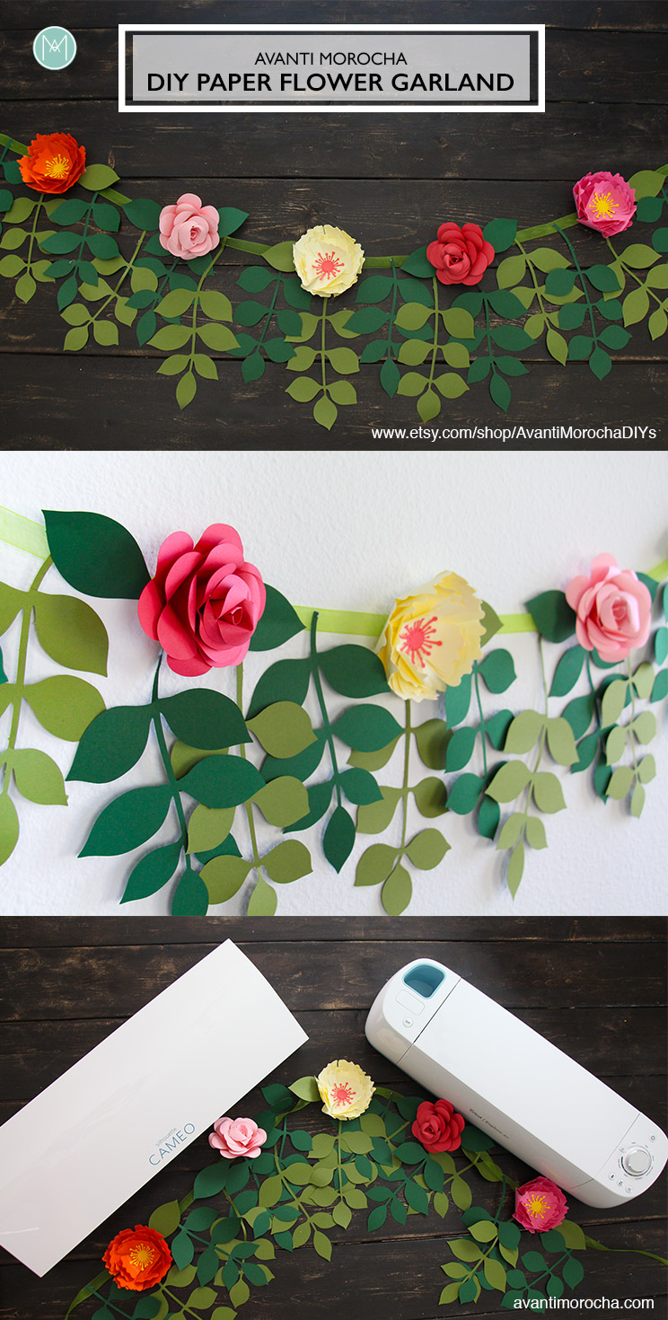 Etsy Paper Flower Garland Flowers Healthy