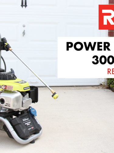Ryobi 3000 PSI 2.5 GPM  Gas Pressure Washer  Review