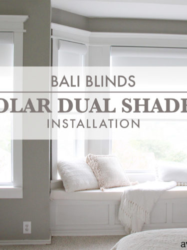 Bali Blinds Solar Dual Shades Installation | Persianas Solares Dobles