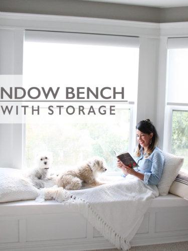 DIY Window Bench – Asiento Bajo la Ventana