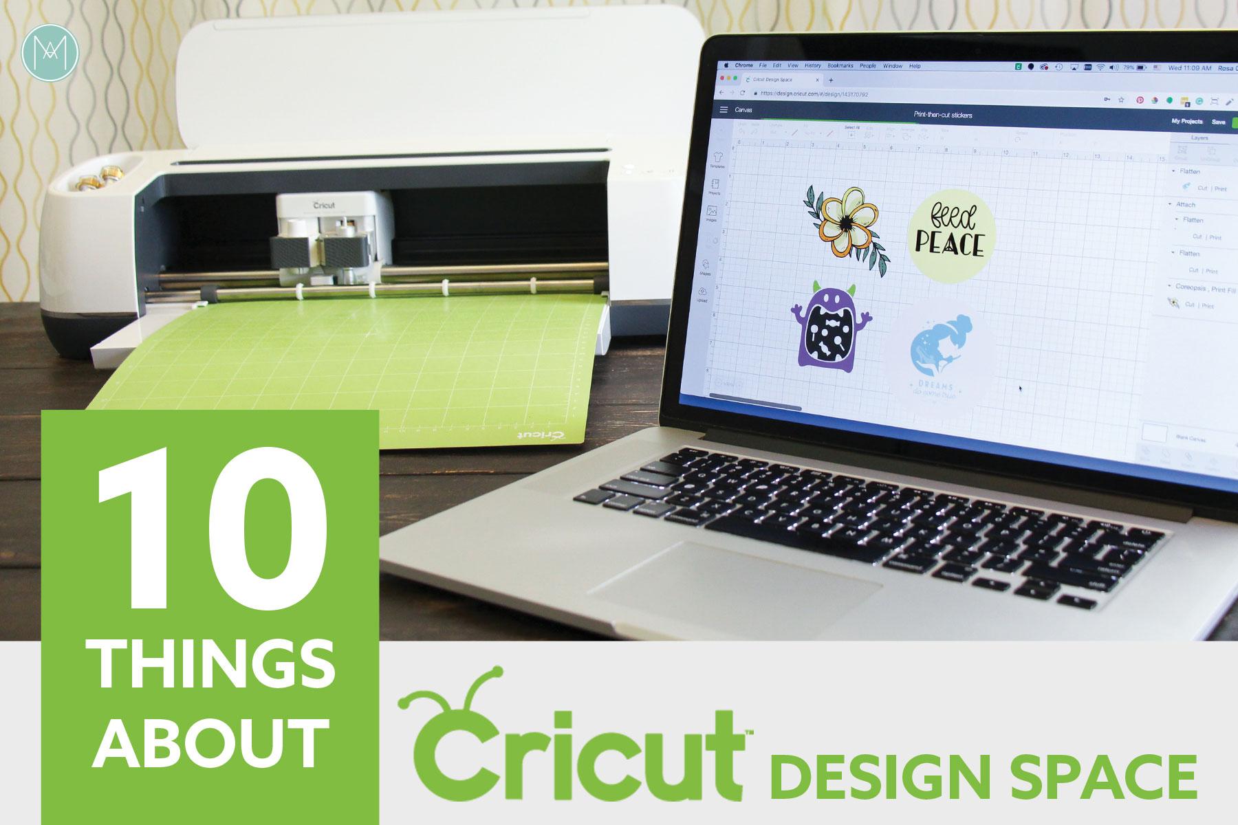 10 Things About Cricut Design Space | 10 Cosas sobre Cricut DS